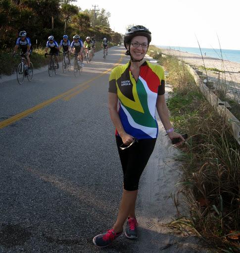 Winning The 35-Mile Bike Race